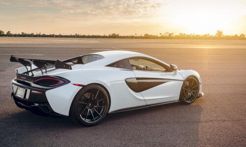 McLaren 570GT white