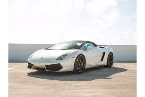 Lamborghini Gallardo spyder pearl