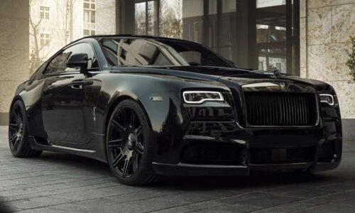 Rolls Royce Wraith black