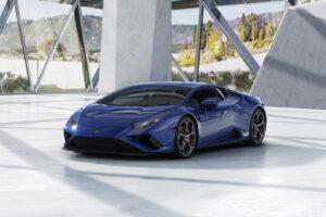 Huracan EVO blue